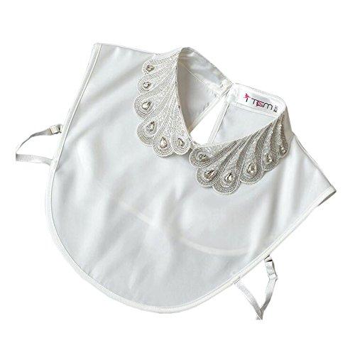 Collier à col en faux à la mode Collier détachable pour collier faux blanc C