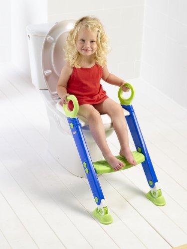 Keter LP/225012-LP Toiletten Trainer XL, grün / weiß / blau