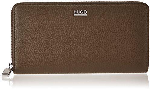 HUGO Damen Nave-r 10195833 01 Geldbörse, Beige (Dark Beige), 1.5x10x19 cm