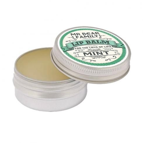 Mr. Bear Family Lip Balm Mint