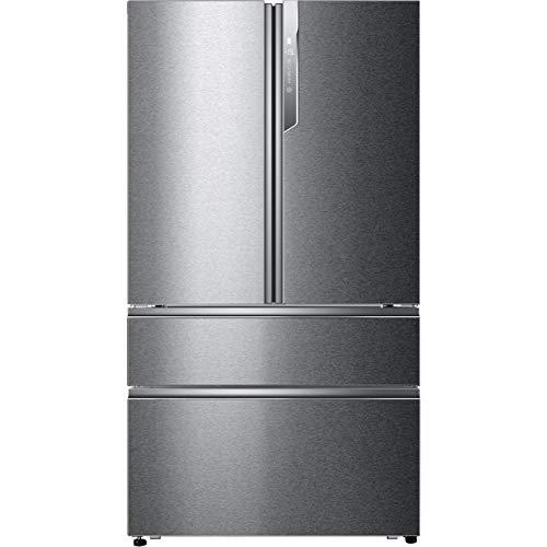 Haier HB26FSSAAA American Fridge Freezer - Stainless Steel