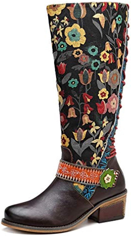 HY Nuovi Stivali Lunghi Fatti a a a Mano da Donna R Autunno Inverno Stivali Lunghi Casual da Uomo Scarpe Casual Scarpe... | Diversi stili e stili  6c4be5