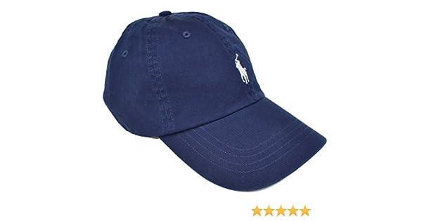 6abab06bb NAVY RALPH LAUREN CLASSIC SPORTS CAP - ONE SIZE  Amazon.co.uk  Clothing