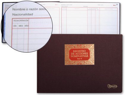 book-miquelrius-n75-folio-book-100-sheets-share-register-nominativas
