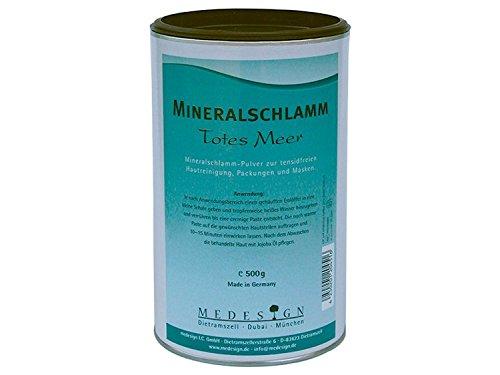 medesign Mineralschlamm, Totes Meer, 1er Pack (1 x 500 g) - Mineral Care Schlamm