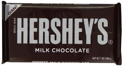 Hersheys Hershey Milk Chocolate Giant Bar 198 g (Pack of 3)
