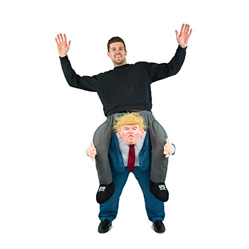 Bodysocks® Donald Trump Huckepack (Carry Me) Kostüm für Erwachsene (Donald Trump Kostüm)