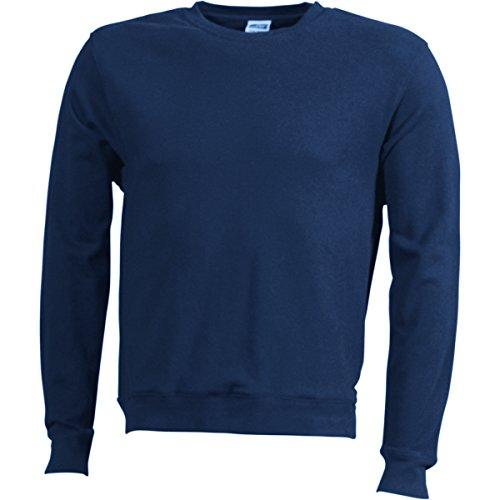 French Terry Sweater - Farbe: Navy - Größe: XXL French Terry-sweatshirt