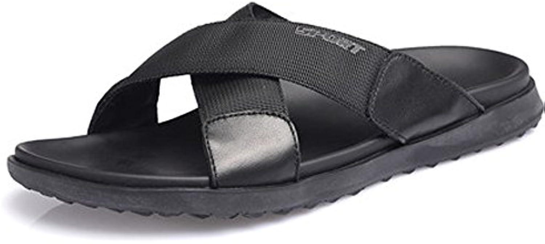 Sandalias De Verano Cruzadas Sandalias De Cuero Y Zapatillas Zapatos De Playa De