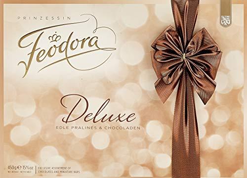 Preisvergleich Produktbild Feodora Chocolade Pralinen Deluxe Mischung,  1er Pack (1 x 450 g)