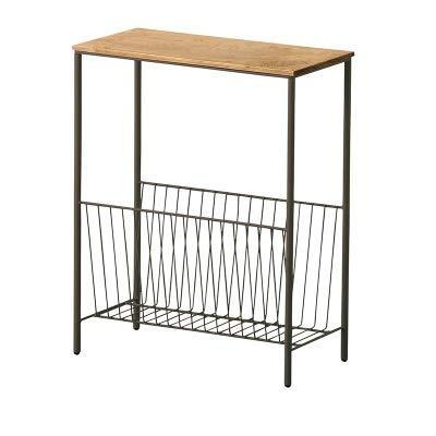 BAIF Nordic Sofa Side Schmiedeeisen Beistelltisch Mini Einfache Side Cabinet Kleinen Couchtisch Sitzecke Schmale Nachttisch Kleinen Quadratischen Tisch (Produktgröße: 40x20x50cm) -