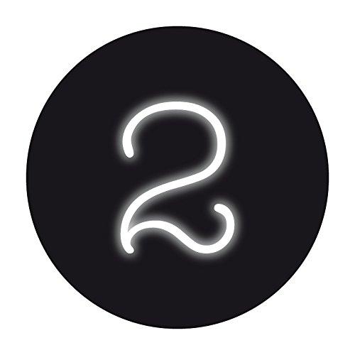 Seletti 'Lampe néon Neon Font cm moulé. 17 h. 24 – 2