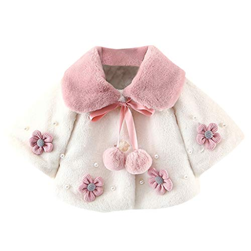 sunnymi 0-24 Monate Baby Kinder Mädchen Wintermantel Manteljacke Dicke Warme Kleidung