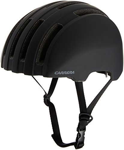 Carrera Prec 416542 Bicicleta Casco, Unisex, Color Black Matte, tamaño Medium