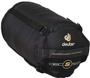 deuter sac de couchage compact noir s sports. Black Bedroom Furniture Sets. Home Design Ideas