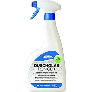 Duschglas Reiniger | Zur Reinigung von Echtglas Duschen | 750 ml Sprühflasche