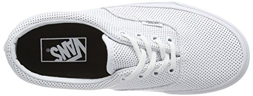 Vans Era, Low-Top Sneakers mixte adulte White (Perf Leather - True White)