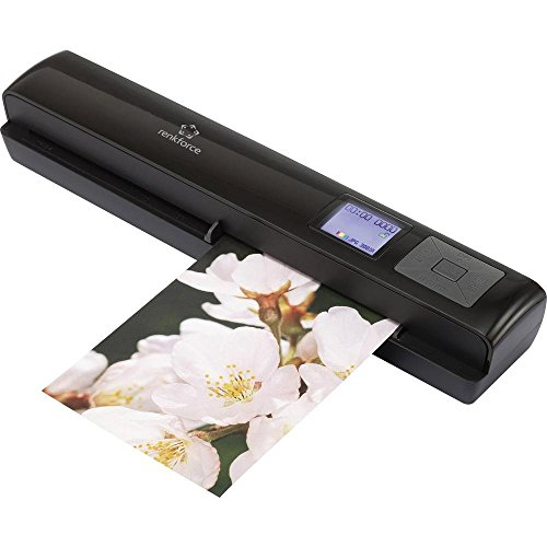 Renkforce Mobiler Dokumentenscanner A4 Mobile Scan Wireless-Edition 300 x 1200 dpi USB, WLAN 802.1