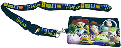 yard with Pouch Fastpass Tickets Holder -Black by Disney (Lanyard Pouch)