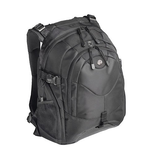 Targus 15 – 16 Inch / 38.1 – 40.6cm Campus Backpack – Mochila para portátiles y netbooks (40,64 cm (16″), 39,12 cm (15.4″), 381 x 200 x 480 mm, Negro, 1 kg)