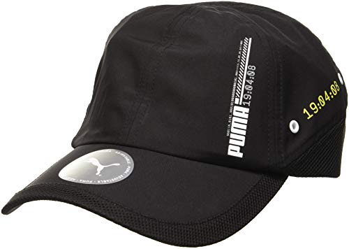 PUMA Erwachsene Energy Training Cap Schirmmütze, Black, Adult