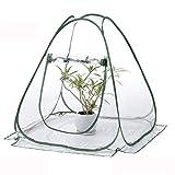 TECHSON - Invernadero para jardinería (tamaño pequeño), diseño de Flores