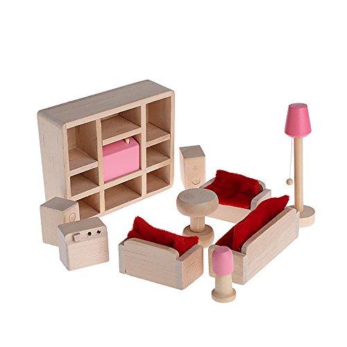 haus Möbel Abendessen-Spielzeug-Set für Kinder spielen Spielzeug Living room ()