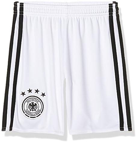adidas Jungen Fußball/Heim-shorts UEFA Euro 2016 DFB Torwart Replica, White/Black,