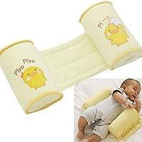 Newin Star Almohada de lactancia Cama de bebé Colchón Posicionador de Sueño Recién Nacido Soporte Infantil Cuna Parachoques Anti Roll Sleeping Cushion