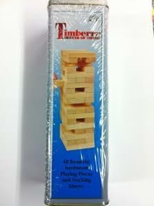 Timberr - jeu d'adresse - tour infernale en bois avec boîte métal