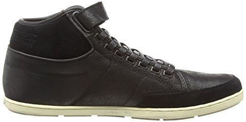Boxfresh Swich Blok, Herren Hohe Sneakers Schwarz (Black)