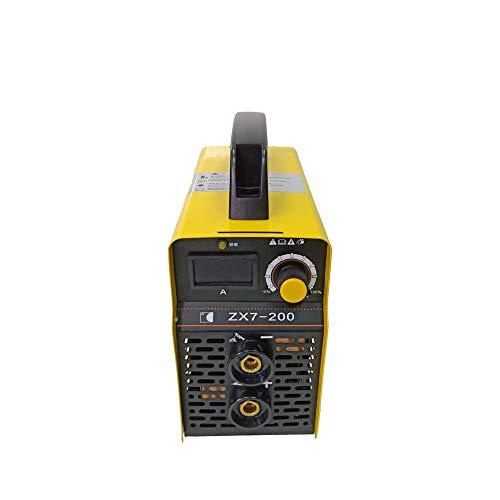 Leepesx ZX7-200 Mini Welder Inverter Tragbares elektrisches Schweißgerät mit Aufbewahrungskoffer...