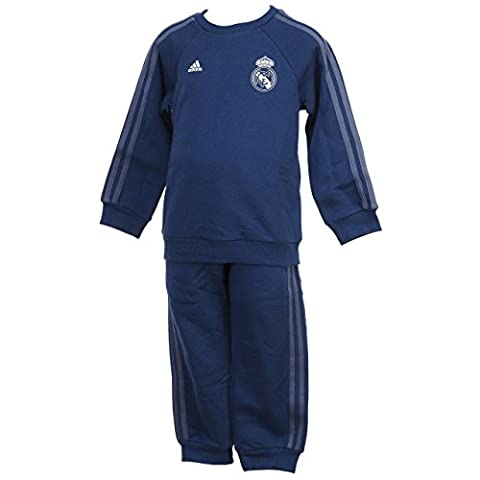 adidas REAL 3S BBYJOGG - Ensemble- Linea Real Madrid CF - Unisex Kinder, Dunkelviolett, 98
