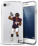 iPhone 6/6S iPhone 7/iPhone 8 Hülle Epic Cases Ultra Slim Crystal Clear Football Series Soft Transparent TPU Case Cover Apple (iPhone 6/6s) (iPhone 7) (iPhone 8), iPhone 6/7/8, Watson
