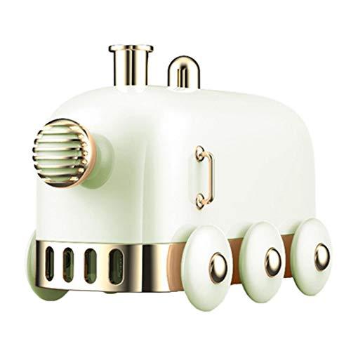 DNelo Humidificador 300ml Mini USB humidificador ultrasónico de Tren de luz LED Niebla Difusor de vaporización - Verde