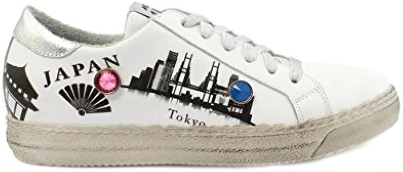 Meline D.Luxe Sneaker BUP1018 Galaxy Bianco Xer Japan
