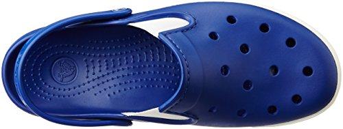 Crocs Citilane Clog, Sabots Mixte Adulte Bleu (Cerulean Blue/White)