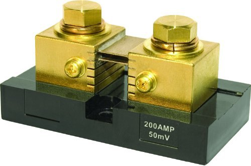 Blue Sea Systems 200A Analog Meter Shunt by Blue Sea Systems Blue Sea Meter