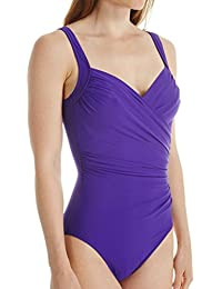 Miraclesuit Must Haves Sanibel Ultra Violet Purple Wired Swimsuit 364163