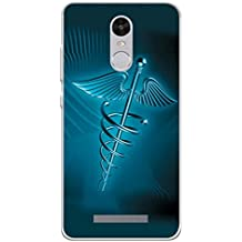 YuBingo Soft Silicone Designer Printed Mobile Back Case Cover for Xiaomi Redmi Note 3 | The Graphic Medical Care Image | UV Printed | Waterproof | Shockproof | Slim | Light