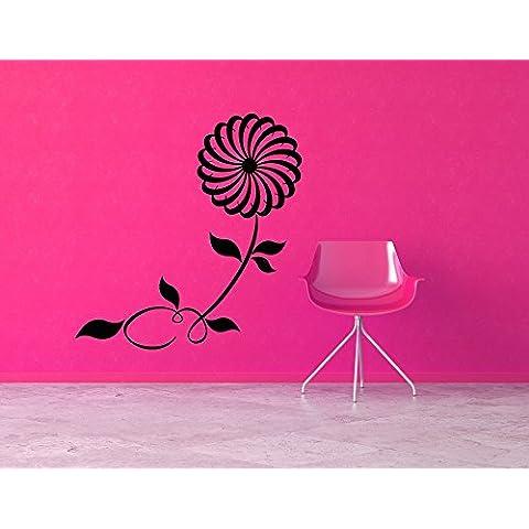 decorrooms flores vinilo adhesivo para pared pared adhesivo vivero pared arte adhesivo para decoración de la habitación de