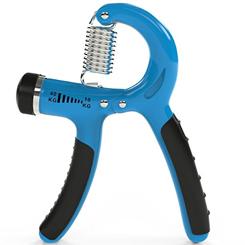 Advent Basics™ Fitness Master Hand Grip Strengthener with Adjustable Resistance from 10 to 40 KG (Multicolor)