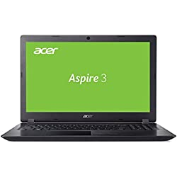 Acer Aspire 3 (A315-51-59ZD) 39,6 cm (15,6 Zoll Full-HD matt) Multimedia Laptop (Intel Core i5-7200U, 4 GB RAM, 128 GB SSD + 1.000 GB HDD, Intel HD, Win 10) schwarz