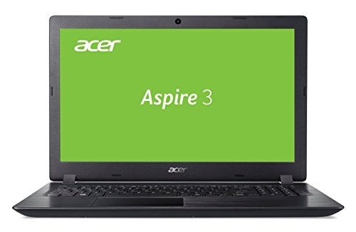 Acer Aspire 3 (A315-51-59ZD) 39,6 cm (15,6 Zoll Full-HD matt) Multimedia Laptop (Intel Core i5-7200U, 4 GB RAM, 128 GB SSD + 1.000 GB HDD, Intel HD, Win 10) schwarz