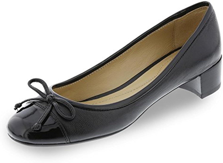 Zapatos bailarina para mujer, color Negro , marca GEOX, modelo D CAREY C