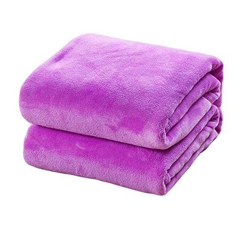 e und leichte Fleece-Decke für Sofa, Einzelbett, Doppelbett, Reise, Auto, Überwurf, Decke für Zuhause, Dekoration - pp ()