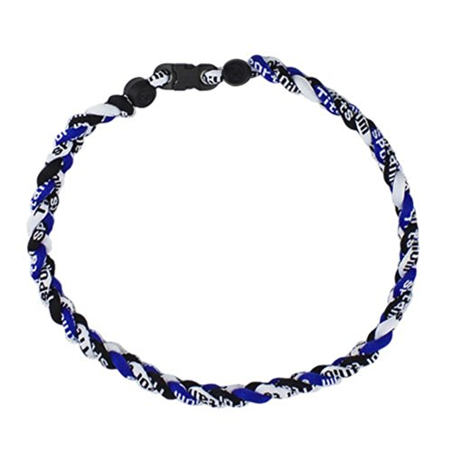 Titanium Ionic Germanium Sports Baseball Necklace 16/18/20/22 inch 3- Seil Halskette (18 inch, 36)