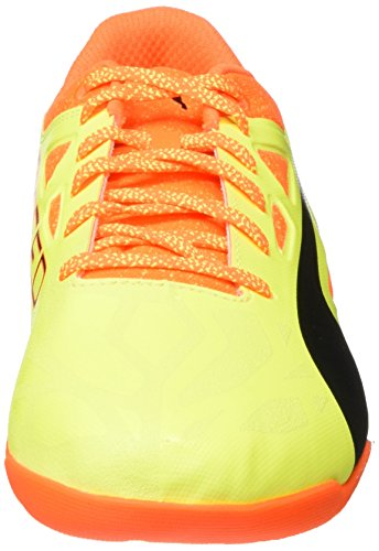 Puma Herren Evospeed Sala 1.5 Fußballschuhe Gelb (safety Yellow-Black-SHOCKING Orange 07)