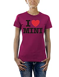 Touchlines Damen I love Mini T-Shirt TL242