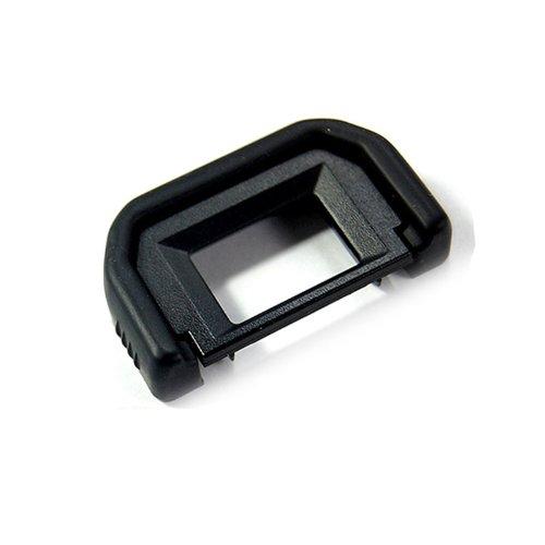 JJC oculare di ricambio per mirino compatibile con Canon EFEOS 5D Mark II, 1100D, 1000D, 600D, 550D, 500D EOS 450D, 400D, 350D, 300D Digital Rebel XT, XTi, XSi T1i, T2i EOS Rebel K2, T2, Ti